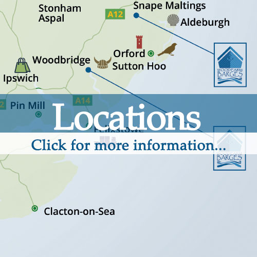 location of dog friendly holiday barges in suffolk thumbnail